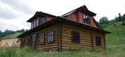 Продажа нового дома со сруба в живописном уголке Прикарпатья