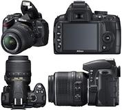 Срочно!!Продаю Nikon D3000 +2 объектива+сумка+...