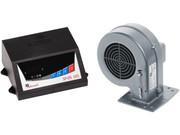 Вентилятор и автоматика для твердотопливных котлов SP-05 LED   Опт и розница