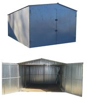 металевий гараж швидкозбірний для легкового авто чи автобуса