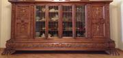 Антикварная  дорогая мебель,  Франкфурт на Майне, три предмета,  1894.