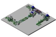 Автоматическая линия для производства деревянных поддонов LPP 1500