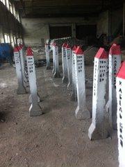 Столбики бетонные в широком асортименте