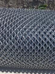 Сетка рабица - изготавливаем нестандарты,  армопояс,  сварная,  столбики
