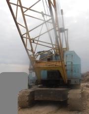 Продаем гусеничный кран RDK-250-2 TAKRAF,  25 тонн,  1987 г.в.