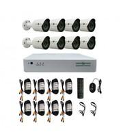 Комплект Відеоспостереження Green Vision GV-K-G03/08 720Р