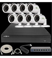 IP Комплект Відеоспостереження GV-ІР-К-L23/08 1080 P