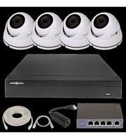 IP Комплект Відеоспостереження GV-ІР-К-L25/04 1080 P
