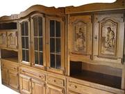 Дубовая мебель. Стінка дубова (Німеччина)