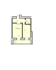 1-кімнатна квартира в новобудові. ЖК
