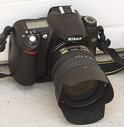 напів професійний фотоапарат